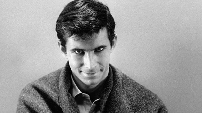Sapık-The Psycho filminde Anthony Perkins