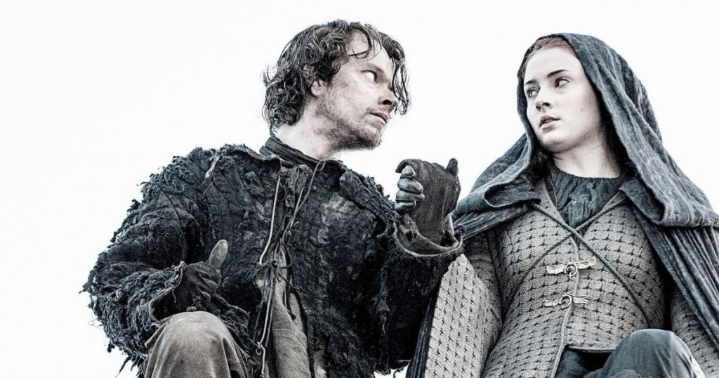 Game of Thrones Theon Sansa