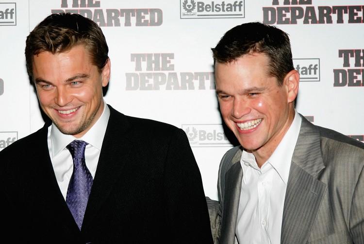 Matt Damon Leonardo DiCaprio