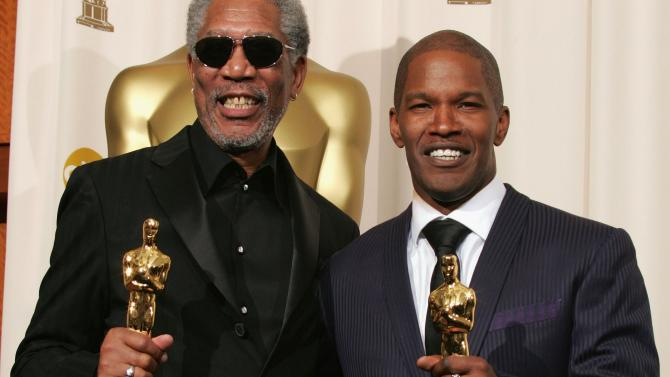 Jamie Foxx Morgan Freeman