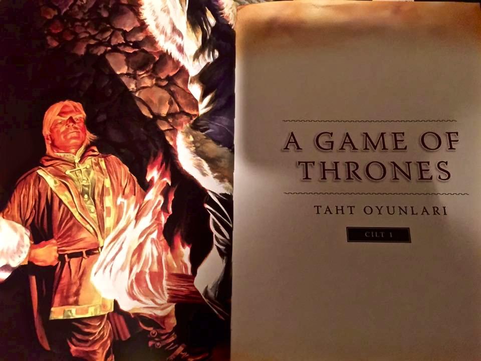 Game of Thrones çizgi roman