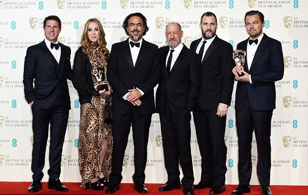 BAFTA 2016 Ödül töreni