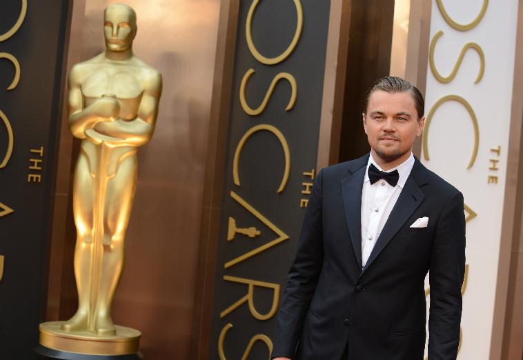 Leonardo DiCaprio, Oscar gecesinde