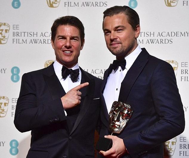 Leonardo-DiCaprio-Tom-Cruise-BaFta
