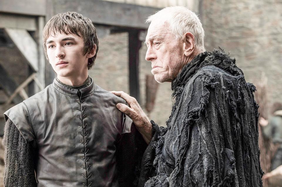 Bran Stark Max Von Sydow Game of Thrones