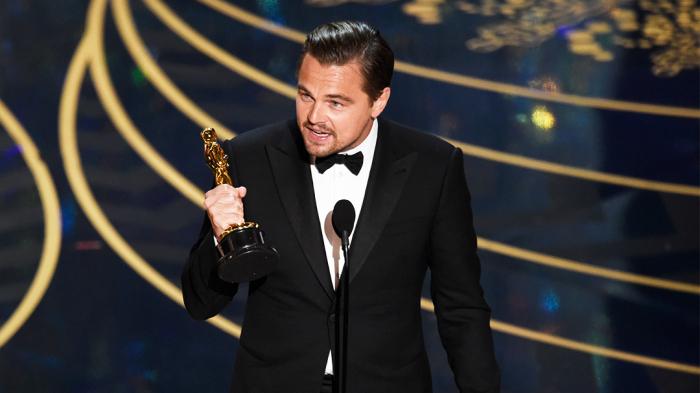 DiCaprio, Oscar töreninde