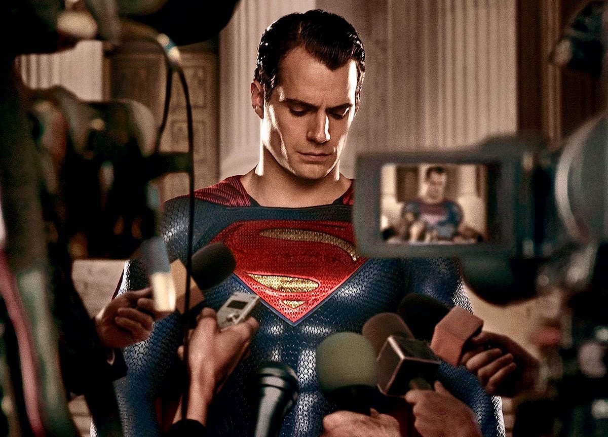 Batman v Superman kamera arkası