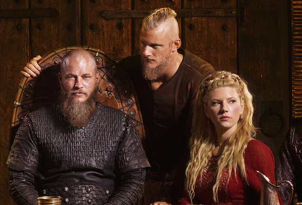 Vikings dizisi Ragnar, Lagertha, Bjorn
