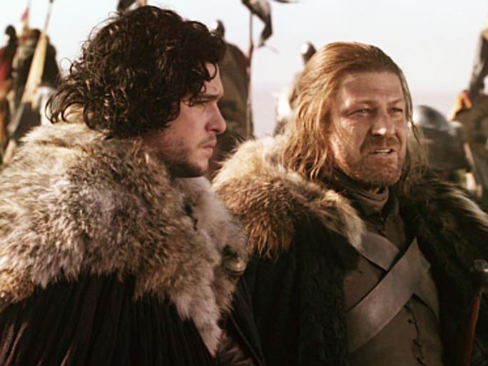 jon Snow Ned Stark