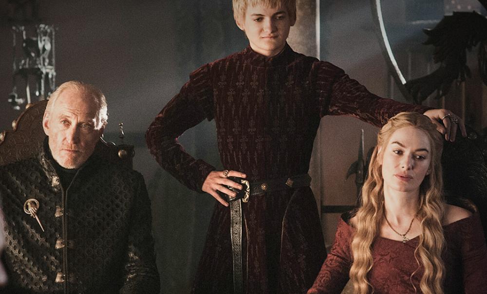 Tywin Lannister Joffrey Baratheon