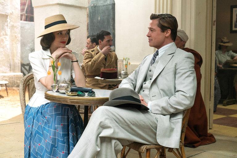 Müttefik Brad Pitt Marion Cotillard