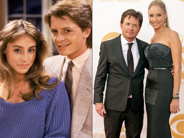 Michael j. Fox Tracy Pollan