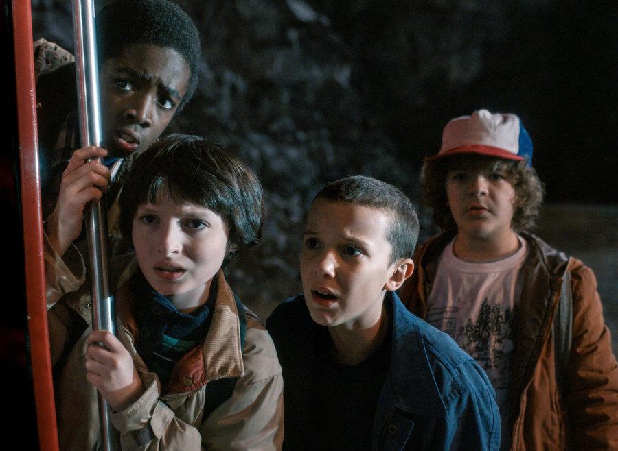 Stranger Things çocuk oyuncular