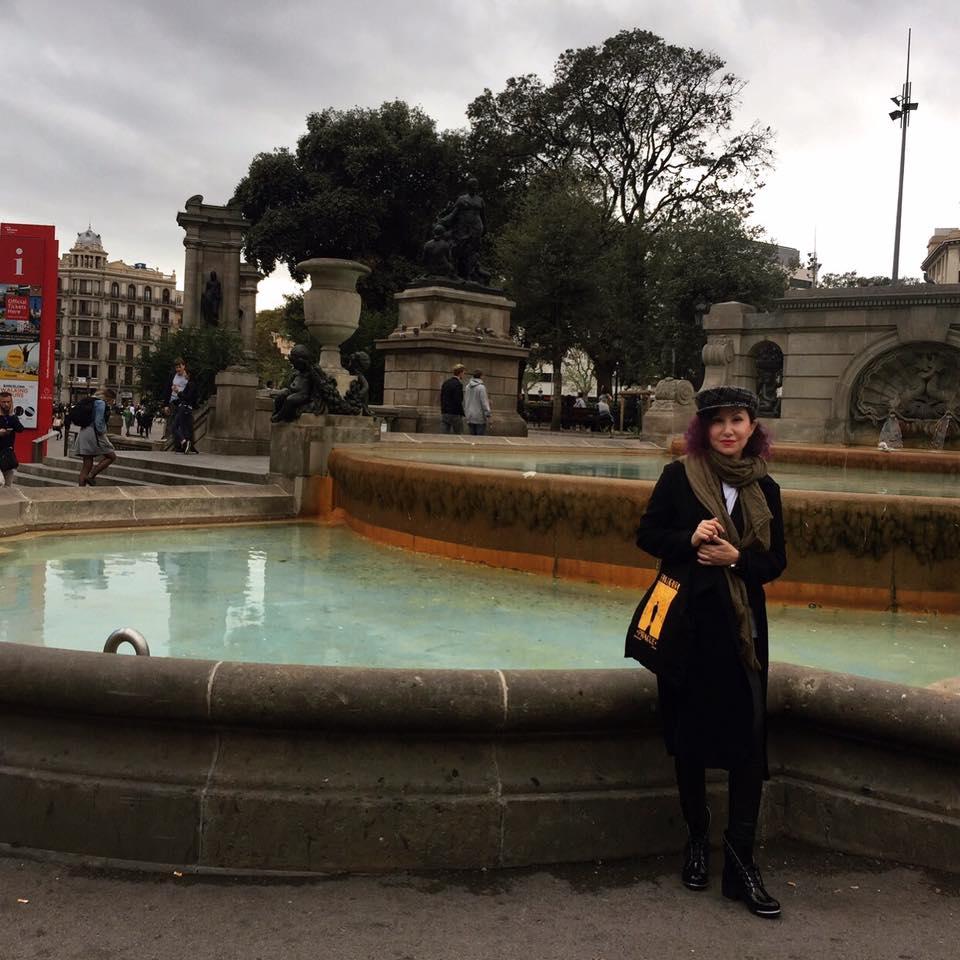 Barcelona kent meydanı