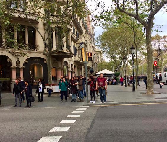 Barcelona Passeig de Gracia
