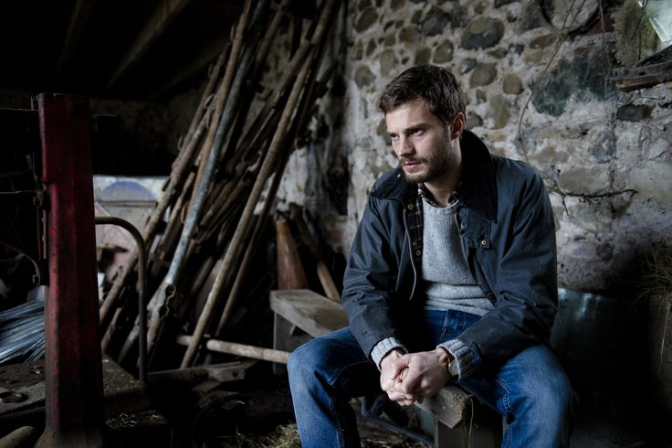 The fall Jamie Dornan