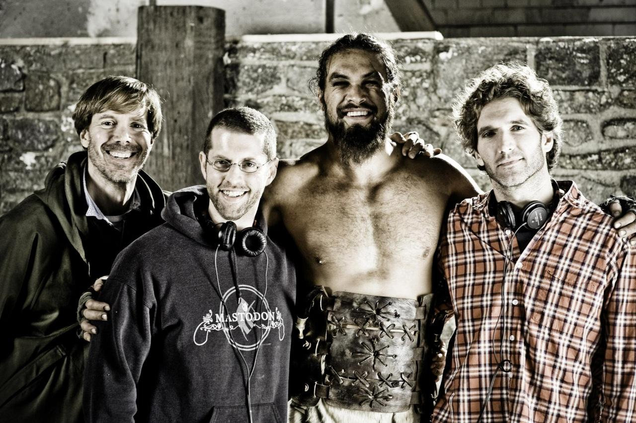 Game of Thrones DB Weiss David Benioff Jason Momoa
