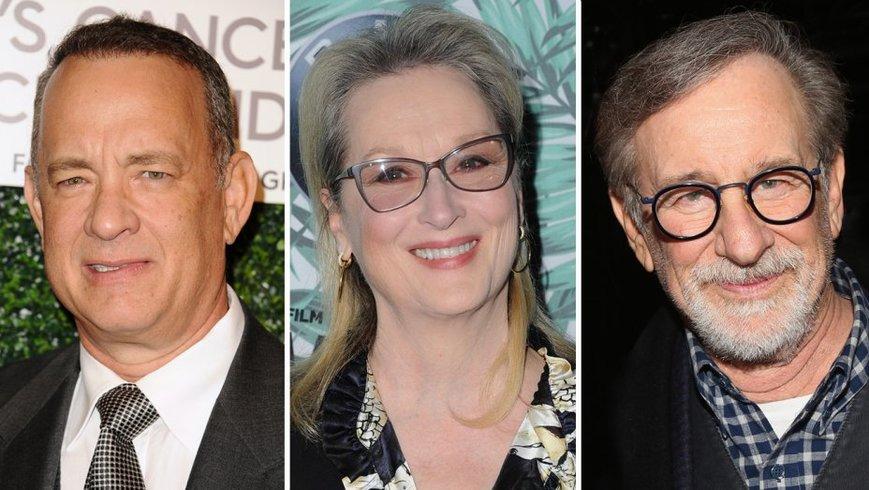 Tom Hanks Meryl Streep Steven Spielberg