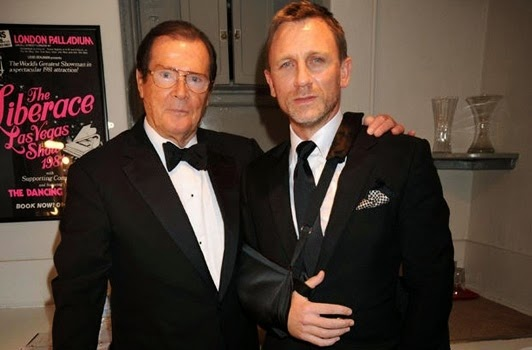 Roger Moore Daniel Craig