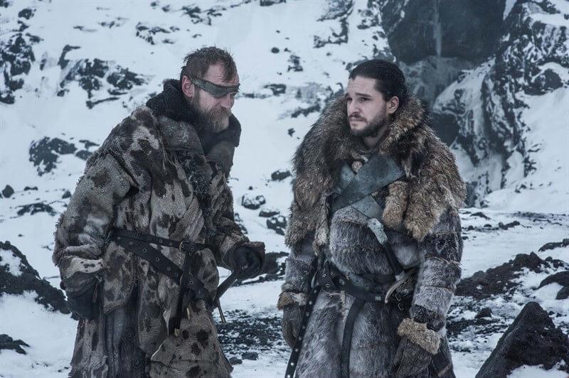 Beric Dondarrion Jon Snow Game of Thrones