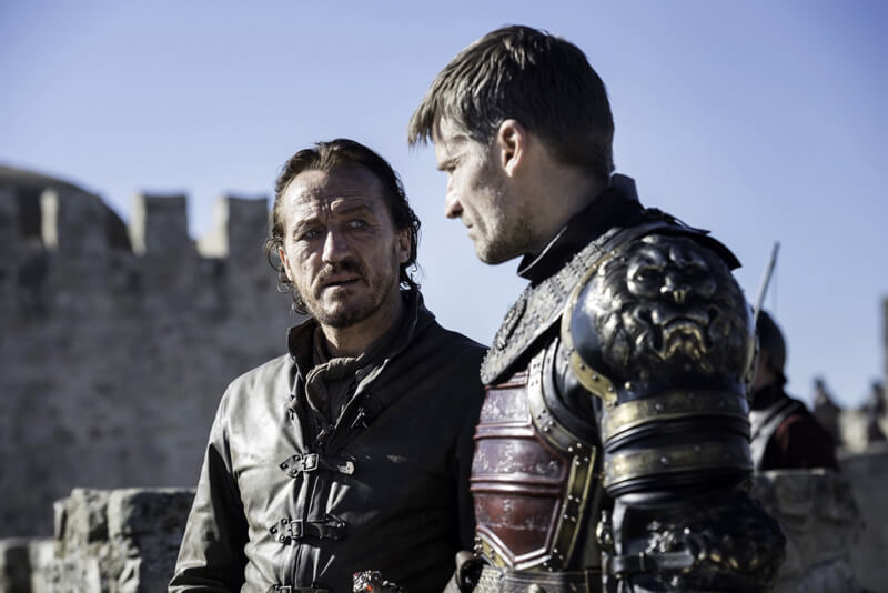 Jaime Lannister Bronn Game of Thrones