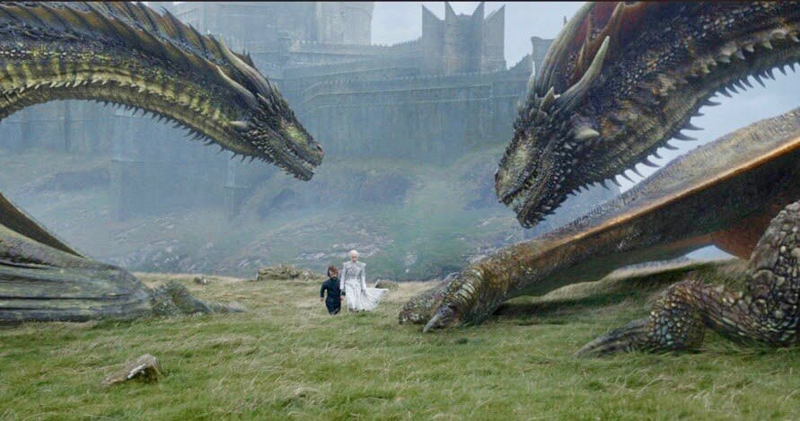 Dragons Game of Thrones