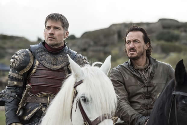 Game of Thrones Jaime Lannister Bronn
