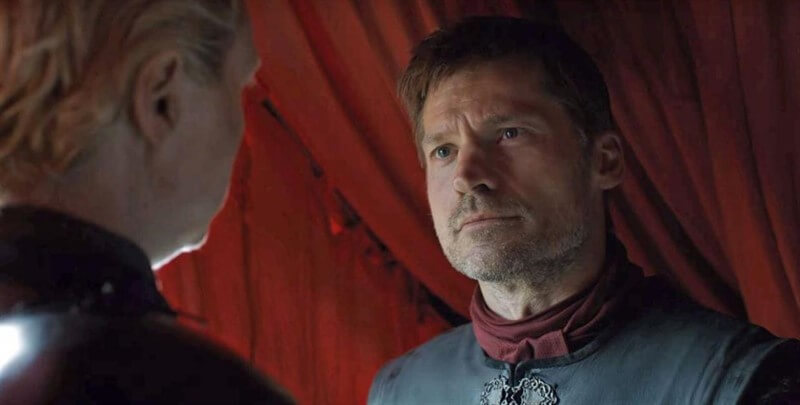 Jaime Lannister Brienne Game of Thrones