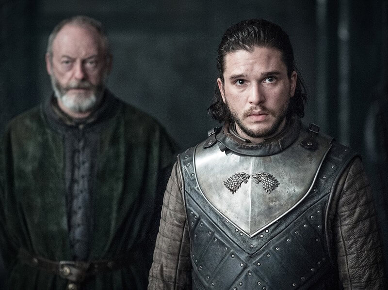 Jon Snow Davos Seaworth Game of Thrones