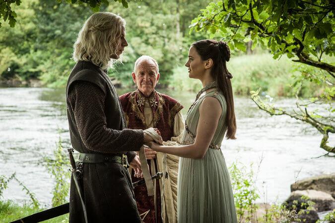Rhaegar Targaryen Lyanna Stark Game of Thrones