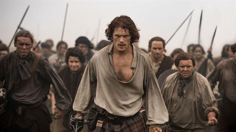 Sam Heughan Jamie Fraser Outlander
