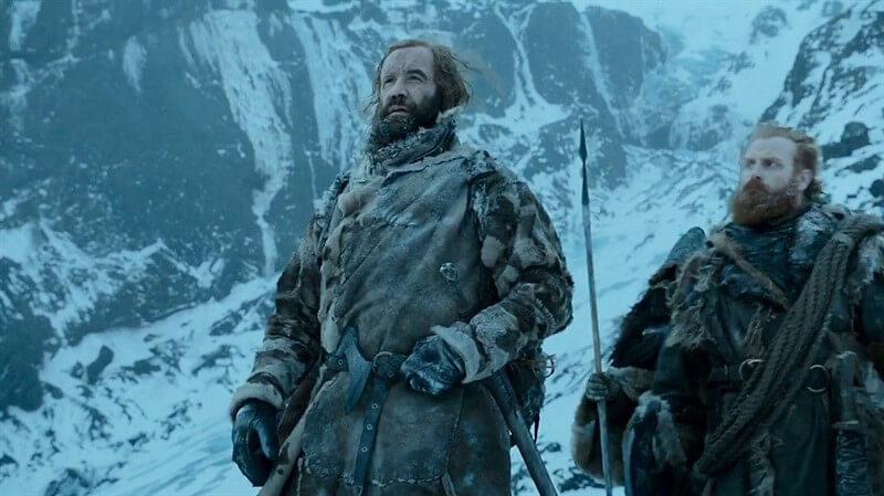The Hound Tormund Game of Thrones