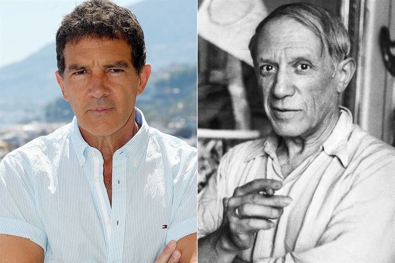 Antonio Banderas Pablo Picasso Deha Genius