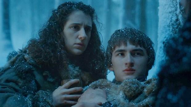 Bran Stark Meera Reed Game of Thrones