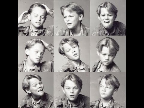 Leonardo DiCaprio çocuk