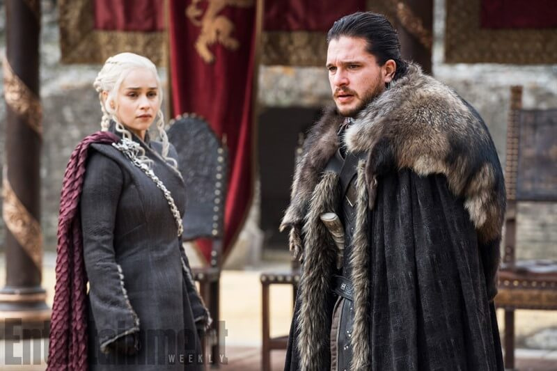 Game of Thrones Jon Snow Daenerys Targaryen