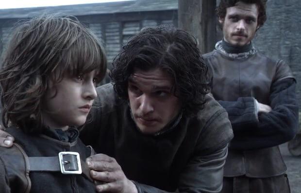 Bran Stark Jon Snow Game of Thrones