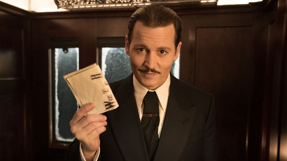 Murder on the Orient Express Johnny Depp