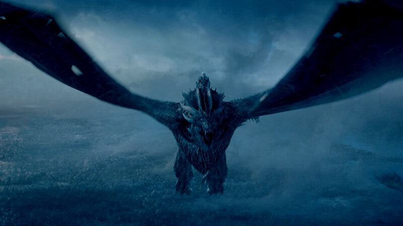 Night King Viserion Game of Thrones
