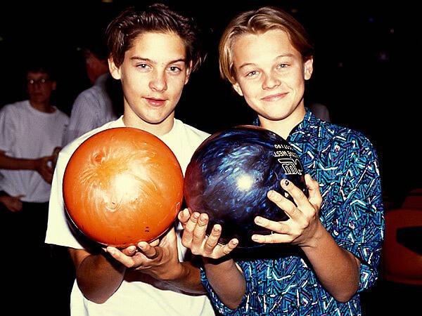 Tobey Maguire Leonardo DiCaprio çocuk