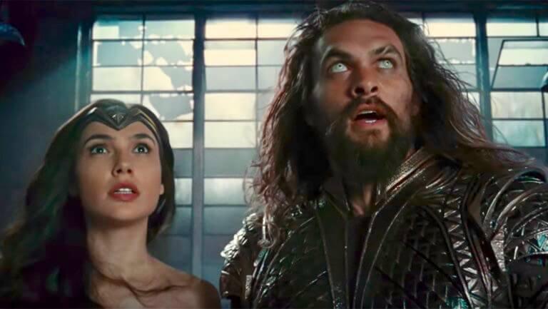 The Justice League Wonder Woman Aquaman