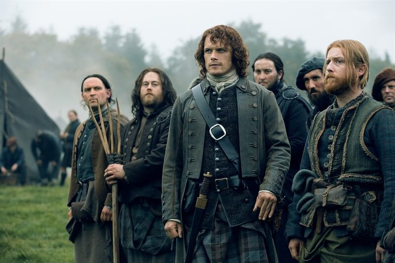 Outlander Sam Heughan Jamie Fraser