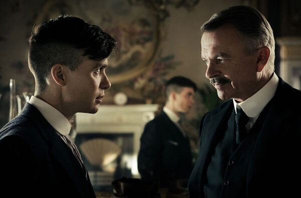 Peaky Blinders Tom Shelby Chester Campbell
