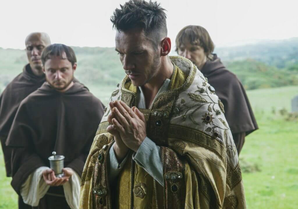 Bishop Heahmund Jonathan Rhys Meyers Vikings