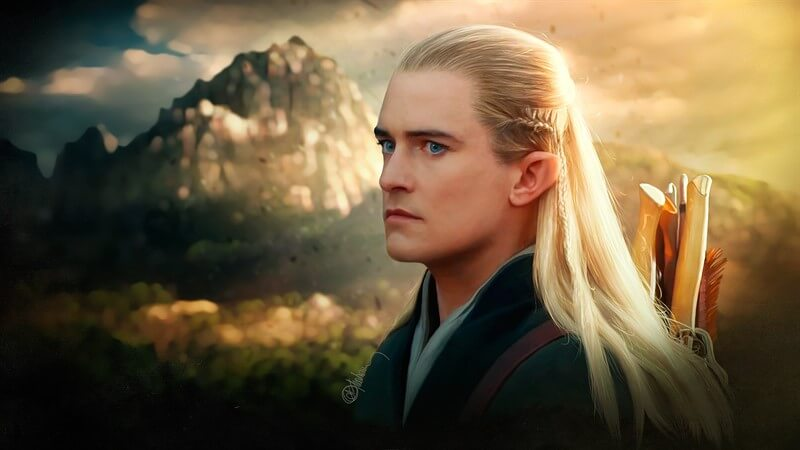 Lord of The Rings Legolas Greenleaf Orlando Bloom