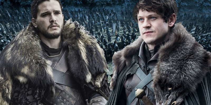 Ramsay Bolton Jon Snow Game of Thrones