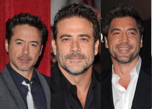 Robert Downey Jr Jeffrey Dean Morgan Javier Bardem