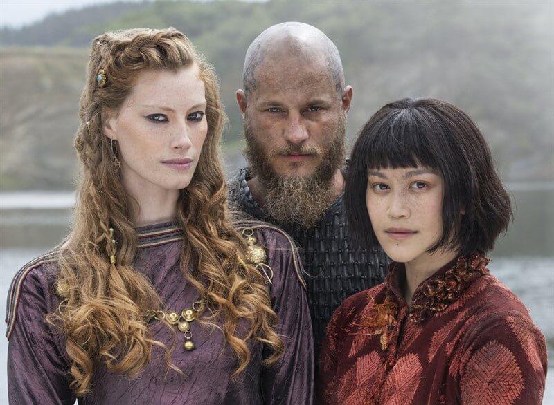 Vikings Aslaug Ragnar