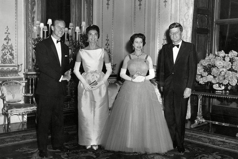 JFK Jackie Kennedy Elizabeth