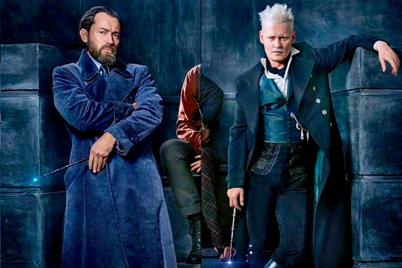 Fantastic Beasts Jude Law Johnny Depp